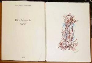 Dans l'abîme de jaime, sérigraphies d'art de Pascal-Olivier Reynaud