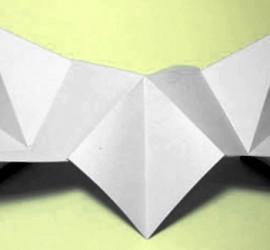 Modèle pliage du livre-fleur