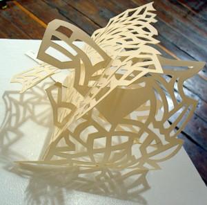 Papier sculpté - Atrium