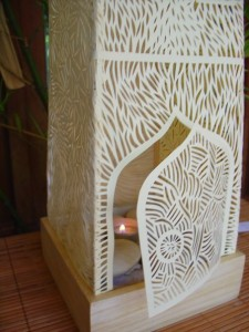 Papier sculptés - Jardin intérieur
