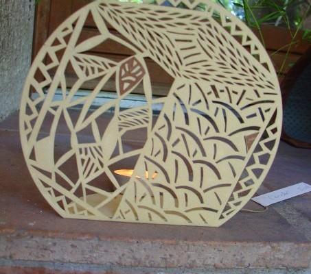 Papier découpé - Quadrature du cercle