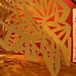 """""""détail de l'Atrium - papier sculpté"""""""
