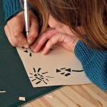 """""""Exemple d'atelier découpe de papier avec les enfants"""""""