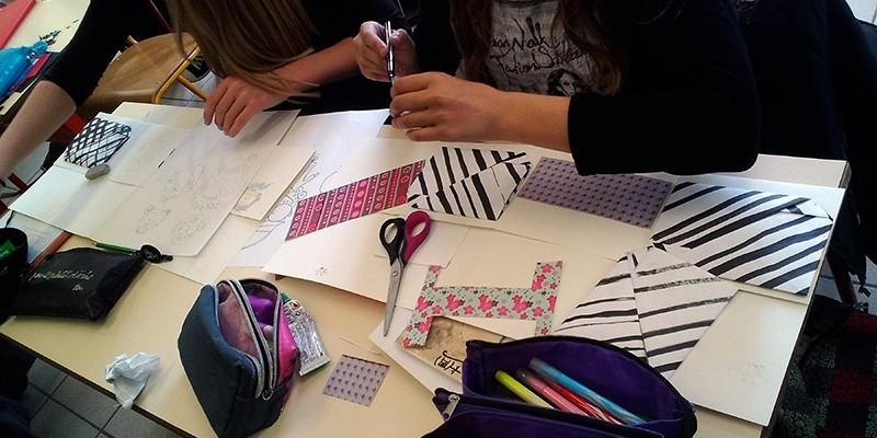 Animation origami, livrets de poésie