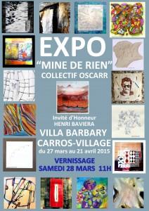 Exposition Mine de rien 2015