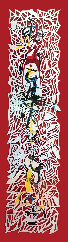Exposition de papiers d'art découpés à Narbonne