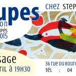 Exposition découpes chez Stephan 2015