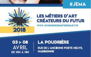 JEMA 2018 - Journée Européenne des métiers d'art
