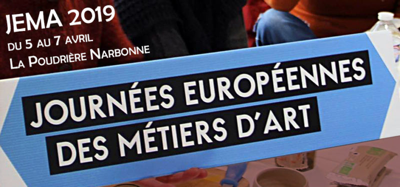 Journée Européenne des Métiers d'Art – JEMA 2019