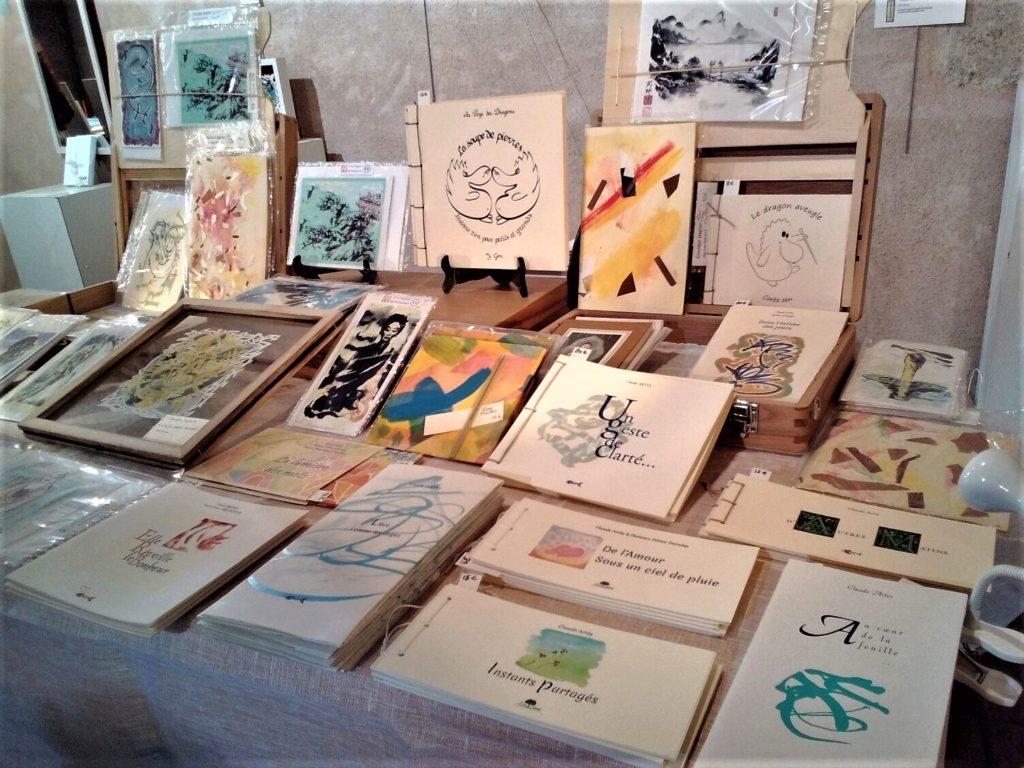 Art Papiers Découpés - édition d'art et de poesie - La Poudrère à Narbonne.