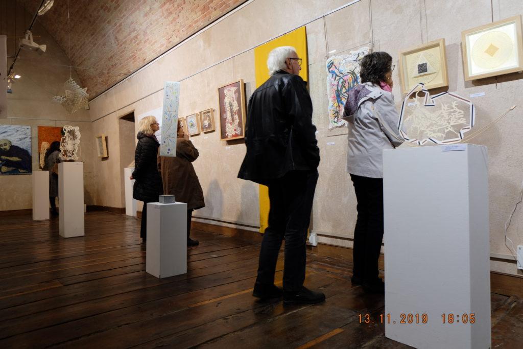 Méditation et Art - Pascal-Olivier Reynaud - Papiers découpés - Exposition Narbonne - novembre 2019.