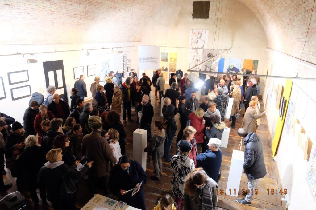 Pascal-Olivier Reynaud - Art Papiers découpés - Vernissage exposition  Méditation et Art novembre 2019 à Narbonne.