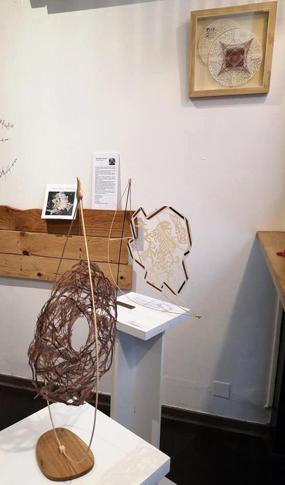 Exposition Papiers découpés et Fibres végétales - Pascal-Olivier Reynaud - Ma Pause Bio à Narbonne